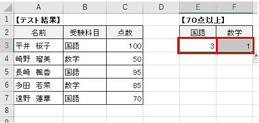 複数の条件に合うデータの個数を数える計算式-4