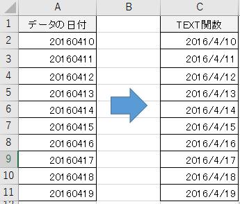 8桁の数字を日付に変換する方法-6